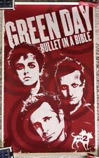 Green Day Bullet In A Bible MTV2 Poster - DVD Blu-Ray RARE 2009