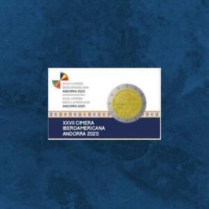 Andorra - XXVII. Iberoamerikanischer Gipfel - 2 Euro 2020 PP / Proof