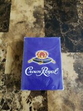 Crown Royal Playing Cards Sealed Box vintage Collectible - Gift worthy