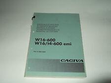 MANUALE D'OFFICINA CAGIVA W16-600/W16/T4-600 EMI