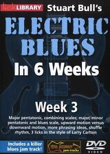 LICK LIBRARY Stuart Bull's ELECTRIC BLUES GUITAR In 6 WEEKS Larry Carlton DVD 3