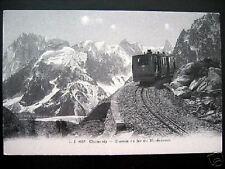 FRANCE~1900's CHAMONIX~Chemin de fer du Montenvers~J.J.
