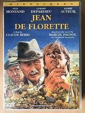 Daniel Auteuil Gerard Depardieu JEAN DE FLORETTE ~ 1986 French Classic UK DVD