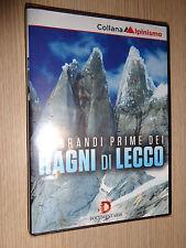 DVD LE GRANDI PRIME DEI RAGNI DI LECCO WEDENSTOCKE TORRE EGGER PALMA BERNASCONI