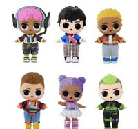 LOL Surprise Boys Arcade Heroes Action Figure Doll with 15 Surprises Including H