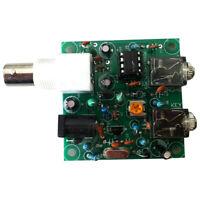 HAM RADIO 40M 9V-12V CW Shortwave Transmitter QRP Pixie Kit Receiver