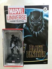 MARVEL UNIVERSE FIGURINE COLLECTION ISSUE 12 BLACK PANTHER PANINI FIGURE + MAG