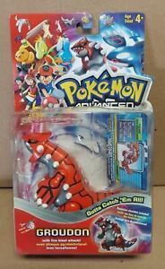 Pokemon Advanced Groudon Figure Hasbro 2003 New