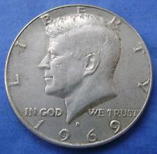 USA Half Dollar 1969 D Kennedy