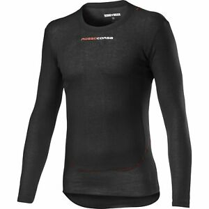 Castelli Prosecco Tech Long Sleeves Bicycle Cycle Bike Base Layer Black