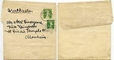 SWITZERLAND 1911 STATIONERY NEWSPAPER WRAPPER + 5c