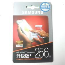 256GB Samsung EVO Plus 100MB/s Class 10 Micro SD SDXC Memory Card f/ S6+/7+/8/8+