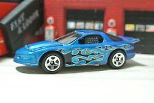 Hot Wheels '98 Pontiac Firebird Loose - Blue -  1:64