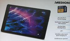 "MEDION P10610 MD 61078 Tablet PC 25,7 cm 10,1"" Qualcomm Snapdragon 430 LTE 32 GB"