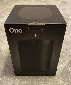 Sonos One gen 2-FACTORY SEALED-schwarz-mit Alexa