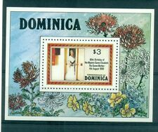 H.M. QUEEN ELIZABETH MOTHER 80th BIRTHADAY - DOMINICA 1980 block