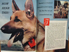 March 29, 1958 TV Guide(RIN  TIN  TIN/JOYCE RAINBOLT/JACK BARRY/HERMIONE GINGOLD