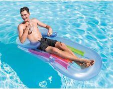 Pool Beach Floating Lounge Inflatable King Kool Intex Swimming