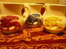 Brocca da mezzo litro Veneta in ceramica smaltata - Leone veneziano
