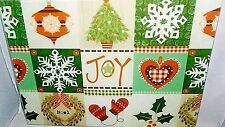 "Glass Cutting Board 15 1/2"" x 11 1/2""  HOLIDAY JOY"