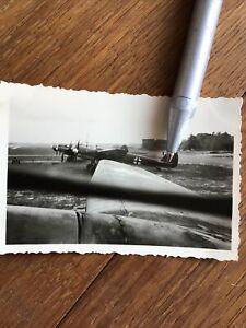 Wehrmacht Bomber Flugzeug Original Foto