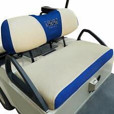 Golf Cart Bench Seat Covers Sandwich Breathable Mesh Fit Club Car &Yamaha AU