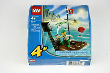 Lego 7070 Catapult Raft Pirate 23 pcs Building Toy 2004 - New Sealed