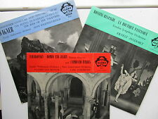 """3 * 12"""" Lp's La Boutique Fantastique, Romeo & Juliet, Wagner Extracts Decca ACL"""