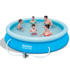 Bestway Fast Set Pool Set 57274 mit Filterpumpe 366x76cm Quick UP Schwimmbad NEU