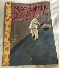 The New Yorker Magazine ~3/11/1933- Robt Day Cover VT Condition