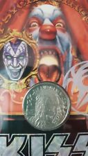 KISS Psycho Circus* SALE * Gene Simmons Small Tour Coin NEW UNOPENED N/S RARE