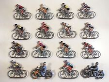 Lot 16 Cyclistes + 2 Motos - SALZA MÉTAL - Tour de France / Giro / Vuelta - 1960