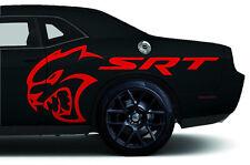 Vinyle Graphique Décalque Hellcat Srt Arrière Drapé Kit pour 2015-16 Dodge