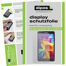 2x dipos Samsung Galaxy Tab 4 7.0 screen protector protection anti glare