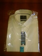 M&S COLLECTION MENS SHIRT 15 1/2 Collar Short Sleeved
