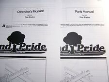 Land Pride Parts Amp Operator Manuals Rb Amp Rbt Series Rear Blades See List