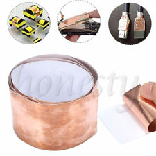 1pcs Copper Foil Shielding Tape 50mm x 1m Low Impedance Conductive Adhesive New