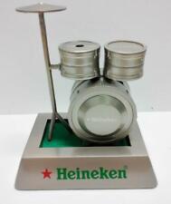 Rare Vintage Heineken Promo Beer Drums Model Lighter Unused In Box (A1129) *G