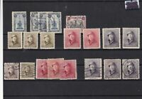 belgium  mounted mint+used stamps ref 12586