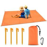 Hot Outdoor Anti Sand Beach Waterproof Mat Camping Picnic Sitting Blanket Garden