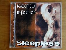 Bakterielle Infektion ‎– Sleepless - CDr # 62/200 White Head Records whsign 1006