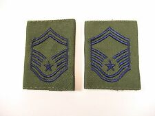 2 Senior Master Sergeant Rank Patch Epaulet Insignia E8 US Air Force, Movie Prop