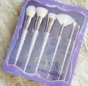 BEAUTY CREATIONS 6 Pc Makeup Brush Set - Purple UNICORN Dream