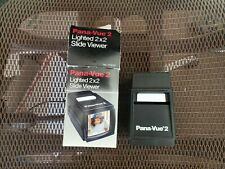 Pana-Vue 2 Slide Viewer 2X2 Screen for 35mm Pana Vue2 Fpa002 Pictures Photos
