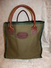 Orvis Gokey Leather Canvas Battenkill Tote Bag Limited Edition 150 Anniversary