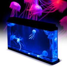 Deluxe LED Light Glowing Jellyfish Aquarium Fish PetsTank  Household Home Decor