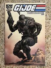 G.I. Joe #18 CVR RI - Snake Eyes Variant - IDW (2012) - VF/NM!