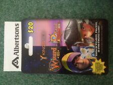 WIZARD 101 PET JEWEL Game Card  Vons - Albertsons safeway