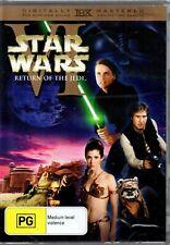 Star Wars VI Return Of The Jedi DVD Brand New Sealed Mark Hamill Harrison Ford