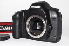 """""""Near Mint"""" Canon Eos 5D Mark Ii Digital Slr Camera Black w/Case,Strap Japan *12"""
